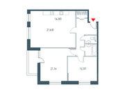 """Продается 3-к. квартира, 93.26 кв.м. ЖК """"Прайм Тайм"""""""