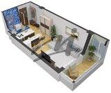 Ногинск, 1-но комнатная квартира, Дмитрия Михайлова ул д.5, 1716800 руб.