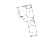 """Продается 2-к. квартира, 64,61 кв.м. в ЖК """"зиларт"""""""