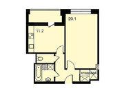 """Продается 1-к. квартира, 46,4 кв.м. в ЖК """"Парк Легенд"""""""