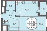 Предлагаем купить однокомнатную квартиру в Жилом комплексе бизнес