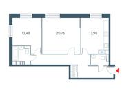 """Продается 2-к. квартира, 72.06 кв.м. ЖК """"Прайм Тайм"""""""