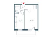 """Продается 1-к. квартира, 52.54 кв.м. ЖК """"Прайм Тайм"""""""
