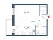 """Продается 1-к. квартира, 39.48 кв.м. ЖК """"Прайм Тайм"""""""