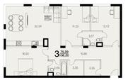 Рогозинино, 3-х комнатная квартира, Рогозинино д.1б, 14900000 руб.