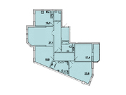 """Продается 4-к. квартира, 152,2 кв.м. в ЖК """"Донской Олимп"""""""