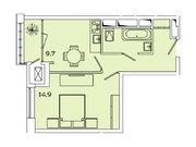 """Продается 1-к. квартира, 37,4 кв.м. в ЖК """"sreda"""""""