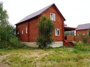 Продается новый дом с коммуникациями и газом в жилой деревне, 4000000 руб.