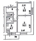 Москва, 2-х комнатная квартира, Мукомольный проезд д.9 к2, 7300000 руб.