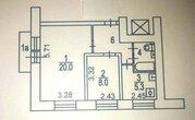 Москва, 2-х комнатная квартира, ул. Академика Скрябина д.28 к1, 6650000 руб.
