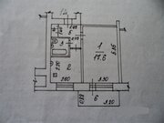 Электросталь, 1-но комнатная квартира, ул. Островского д.16, 1880000 руб.