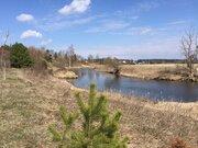 Ухоженный участок в деревне в 10 метрах от Москва реки, 2200000 руб.