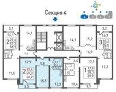 Москва, 2-х комнатная квартира, к4Г д., 5622319 руб.