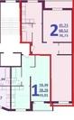 Химки, 2-х комнатная квартира, ул. Овражная д.4, 4199000 руб.