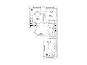 """Продается 2-к. квартира, 54 кв.м. в ЖК """"sreda"""""""