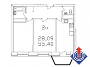 Апрелевка, 2-х комнатная квартира, ул. Ясная д.к10, 4529727 руб.