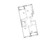 """Продается 3-к. квартира, 88,07 кв.м. в ЖК """"Зиларт"""""""