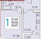 Долгопрудный, 1-но комнатная квартира, Ракетостроителей д.3 к1, 4700000 руб.