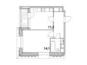 """Продается 1-к. квартира, 36,1 кв.м. в ЖК """"Зиларт"""""""