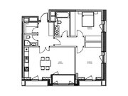 """Продается 2-к. квартира, 79,88 кв.м. в ЖК """"зиларт"""""""