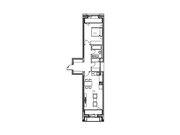 """Продается 1-к. квартира, 56,78 кв.м. в ЖК """"зиларт"""""""