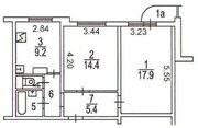 Люберцы, 2-х комнатная квартира, Комсомольский пр-кт. д.15, 5900000 руб.