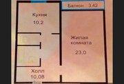 Домодедово, 1-но комнатная квартира, Дружбы д.9, 3950000 руб.