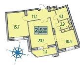 Красногорск, 2-х комнатная квартира, Красногорский бул д.25, 8462850 руб.
