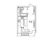 """Продается 1-к. квартира, 22,2 кв.м. в ЖК """"sreda"""""""