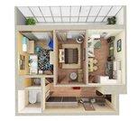 2 комнатная квартира с отличным видом в ЖК «Руполис» дом 1-1