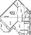 Киевский, 1-но комнатная квартира,  д.55а, 3850000 руб.