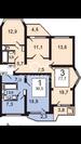 Москва, 3-х комнатная квартира, Летчика Грицевцева д.10, 8000000 руб.