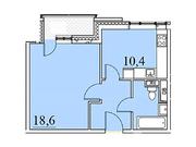 """Продается 1-к. квартира, 40,7 кв.м. в ЖК """"Парк Легенд"""""""