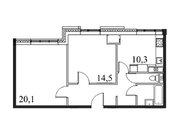 """Продается 2-к. квартира, 60,5 кв.м. в ЖК """"Парк Легенд"""""""
