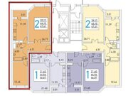 Долгопрудный, 2-х комнатная квартира, Ракетостроителей д.7 к1, 6200000 руб.