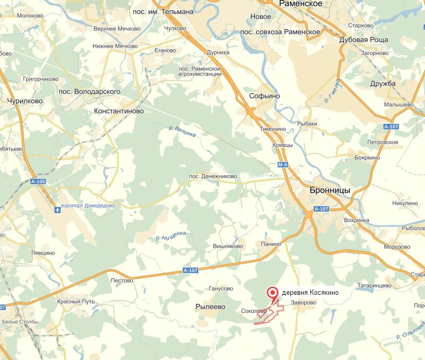есть как добраться до заворово раменский Крым