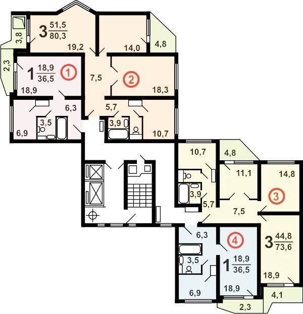 Продажа 1-комнатная квартира в москве - москва, поселение со.