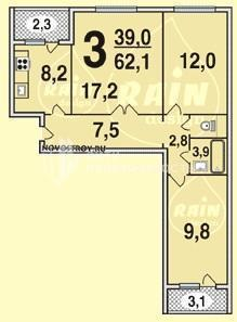 Планировка квартир - п-30.