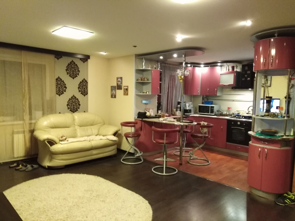 Продается трехкомнатная квартира за 4 890 000 рублей. Московская обл, г Дубна, ул Карла Маркса, д 4/18А.