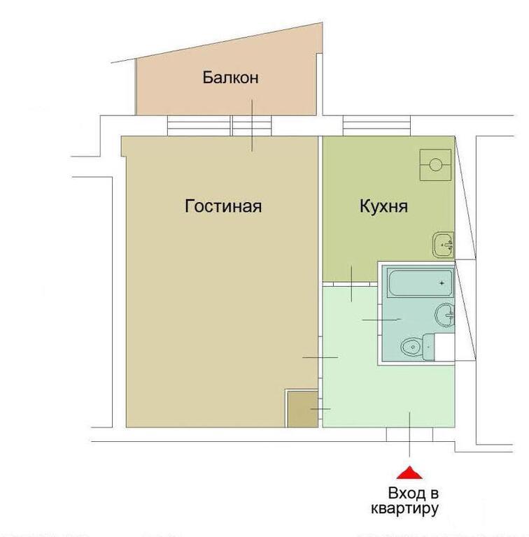 Размер лоджии в доме серии 1-515 9ш.
