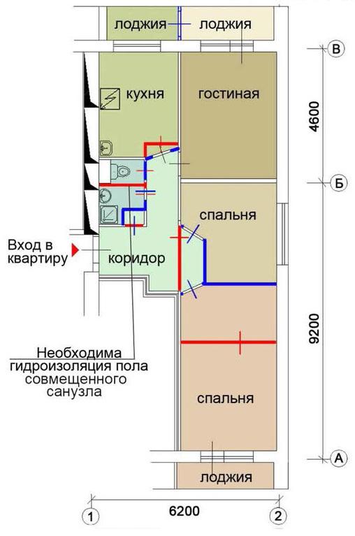 Москва, 3-х комнатная квартира, ул. уссурийская д.11 к1, 78.