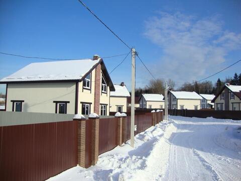 Продаётся новый дом 155 кв.м с участком 6.54 сот.в п. Подосинки.