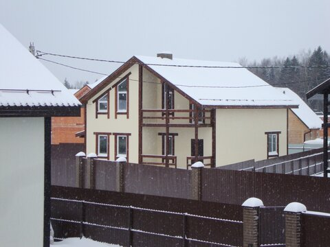 Продаётся новый дом 230 кв.м на участке 10.26 сот. в пос. Подосинки