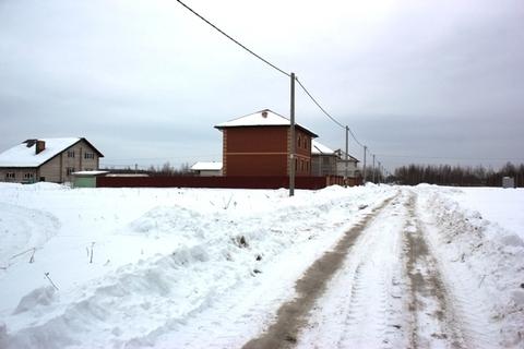 Участок 8 соток в деревне Лунинская