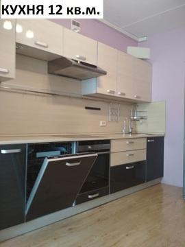 Видовая квартира с большой кухней.