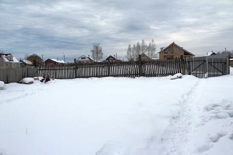 Участок 9 соток в поселке Шувое