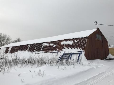 Нежилое помещение – ангар 300 кв. м. М.О, Раменский район, д. Кузяево