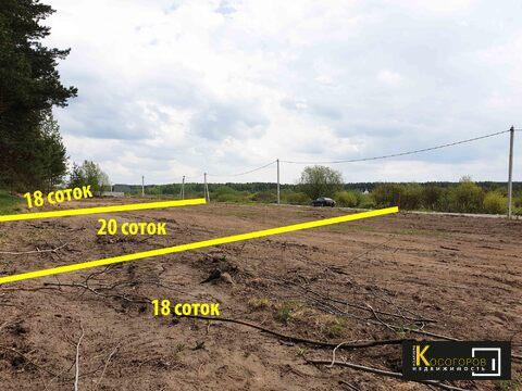 Купи участок с соснами в деревне Литвиново 90.000 рублей за сотку
