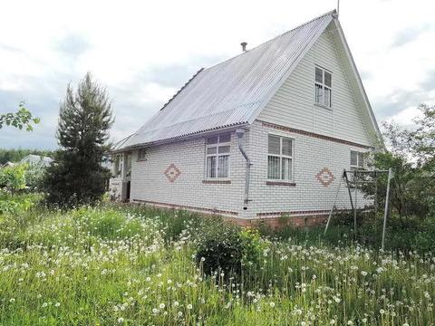 Дом кирпичный 2 эт с печью, д. Слагава, Павловский Посад