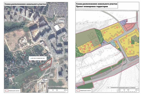 Участок для жилищного строительства 3,67 га в районе д.Ермолино